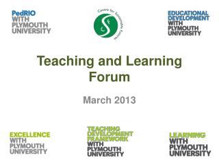 Teaching and Learning Forum
