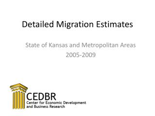 Detailed Migration Estimates