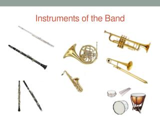 Instruments of the Band
