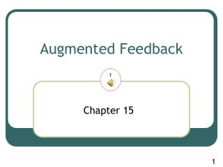 Augmented Feedback