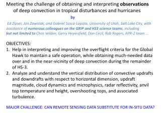 Meeting the challenge of obtaining and interpreting  observations