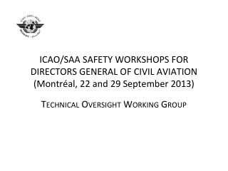 Technical Oversight  Working  Group