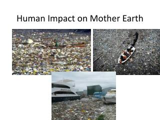 Human Impact on Mother Earth