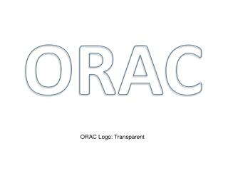 ORAC Logo: Transparent