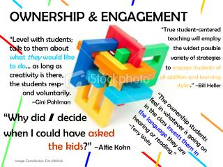 OWNERSHIP & ENGAGEMENT