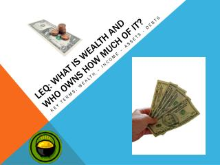 LEQ: What  is Wealth and who owns how much of it?