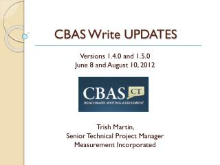 CBAS Write UPDATES