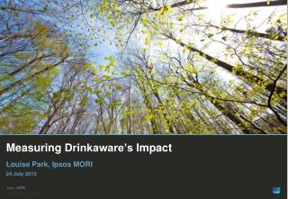 Measuring  Drinkaware's  Impact