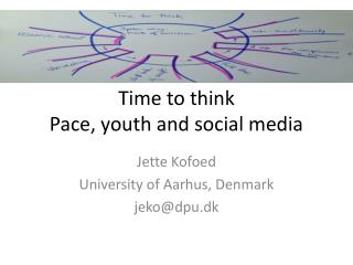 Time to  think Pace,  youth  and social media