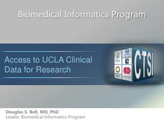 Biomedical Informatics Program