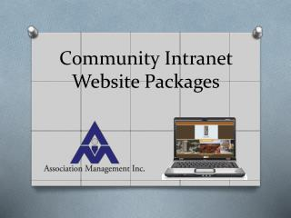 Community Intranet Website Packages