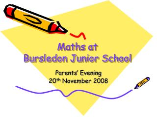 Maths at  Bursledon Junior School