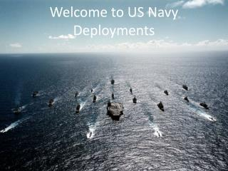 Welcome to US Navy Deployments