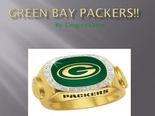 GREEN BAY PACKERS!!