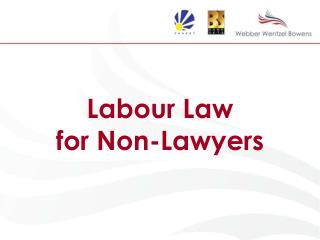 Labour Law  for Non-Lawyers