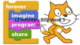 I.T Voluntary Blog Week 3