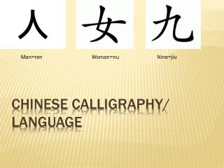 Chinese Calligraphy / Language