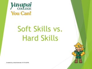 Soft Skills vs. Hard Skills