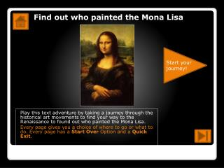 Find out who painted the Mona Lisa