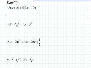 9.0 Classifying Polynomials
