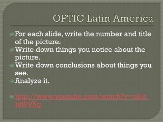OPTIC Latin America