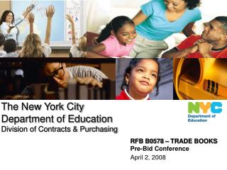 RFB B0578 – TRADE BOOKS Pre-Bid Conference