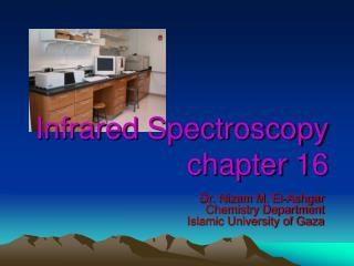 Infrared  Spectroscopy chapter 16