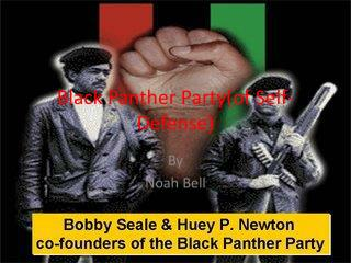 Black Panther Party(of Self-Defense)