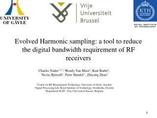 Evolved Harmonic sampling: a tool to reduce the digital bandwidth requirement of RF receivers