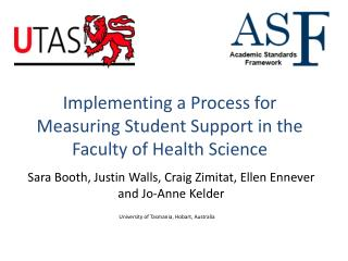 Implementing a Process for Measuring Student Support in the Faculty of Health Science