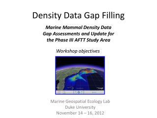 Density Data Gap Filling