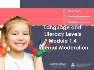 Language and Literacy Levels Module 1.4 Internal Moderation