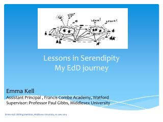 Lessons in Serendipity My  EdD  journey