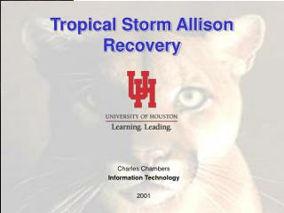 Tropical Storm Allison Recovery