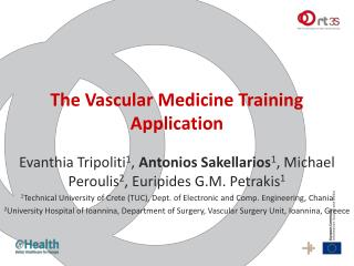 The Vascular Medicine Training Application