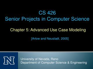 Chapter 5: Advanced Use Case Modeling