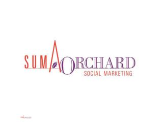 SUMA/ORCHARD SOCIAL MARKETING, INC.
