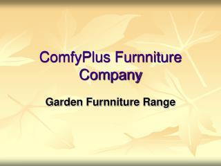 ComfyPlus Furnniture Company