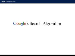 's Search Algorithm