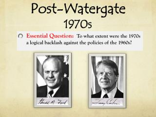 Post-Watergate 1970s
