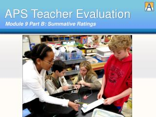 APS Teacher Evaluation