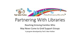 Partnering With Libraries