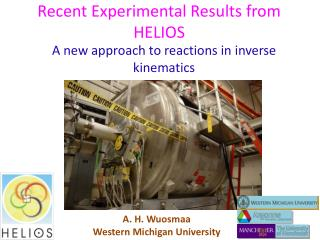 Recent Experimental Results from HELIOS