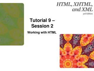 Tutorial 9 – Session 2