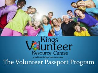 The Volunteer Passport Program
