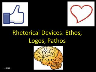 Rhetorical Devices: Ethos, Logos, Pathos