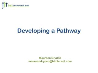 Developing a Pathway