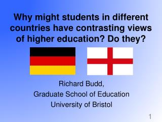 Why might students in different countries have contrasting views of higher education? Do they?