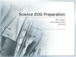 Science EOG Preparation