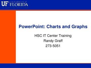 PowerPoint: Charts and Graphs